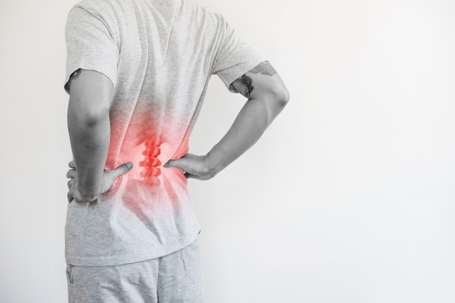 Bóle w okolicy lędźwiowo-krzyżowej, czyli tzw. bóle krzyża